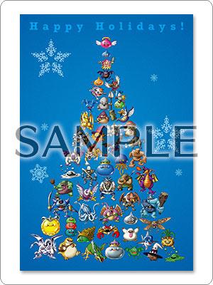 「ジャンプフェスタ2017」クリスマスカードの写真