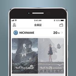 スクウェア・エニックス アプリ カードフェイス