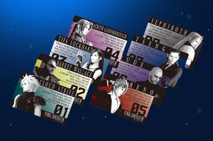 オリジナルメタリックカード 8枚セット