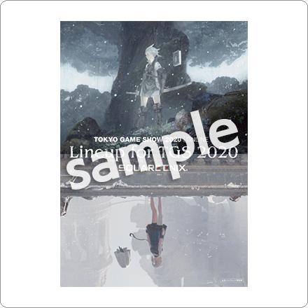 「東京ゲームショウ2020 Online」スクウェア・エニックス公式パンフレット特別版の写真